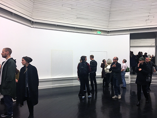 Installation view from the Opening night