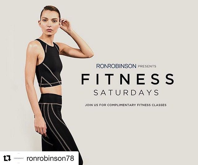RSVP for Saturday morning! #Repost @ronrobinson78 ・・・ Get ballet beach body ready! RONROBINSON x Maxine Hupy x Lifestyle by Leah x Koral Activewear x Royal Sense x Philosophie.  Complimentary workout in the courtyard with healthy snacks to follow. Saturday 9:30-10:30am at RONROBINSON Flagship Santa Monica.  RSVP to Events@RONROBINSON.com.