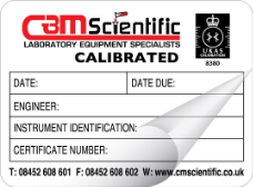 Calibration & Industrial Labels