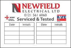 Electrical Labels & Stickers