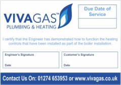 Plumbing & Heating Labels