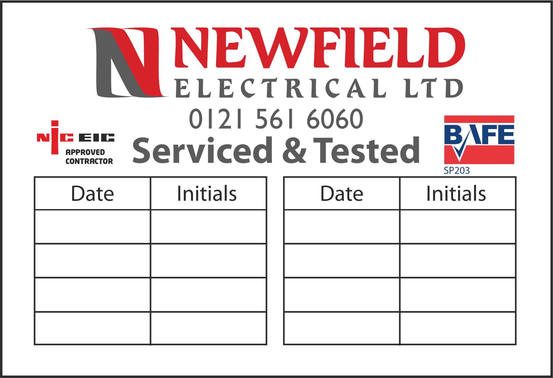 Inspection Label
