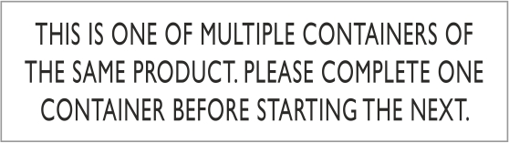 Multiple Containers Labels