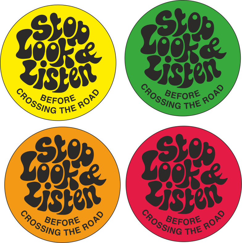 Awareness Stickers Labels