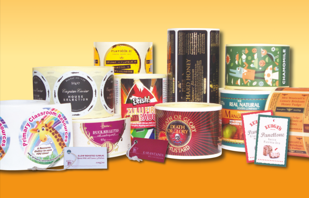 Variety of inkREADible Labels