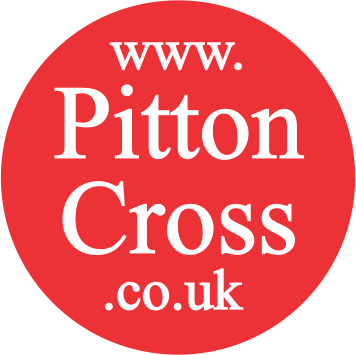 Pitton Cross Stickers