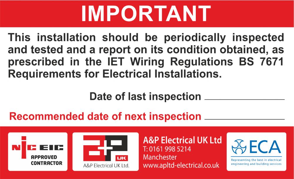 A & P Electrical (UK) Ltd