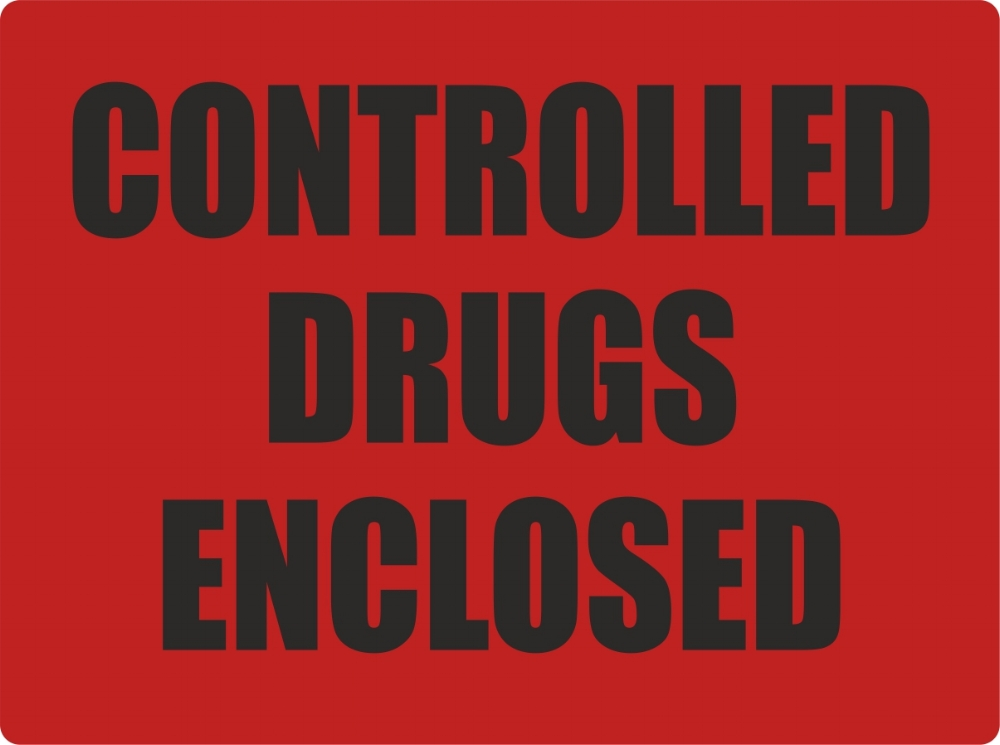 Controlled Drugs Labels