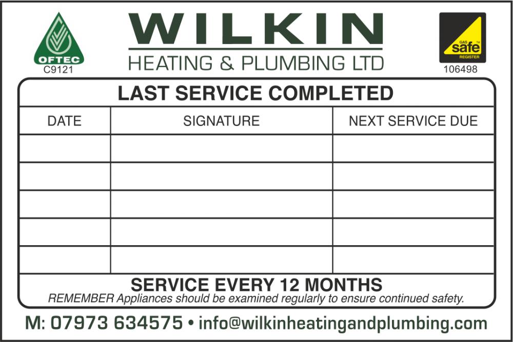 Wilkin Plumbing & Heating