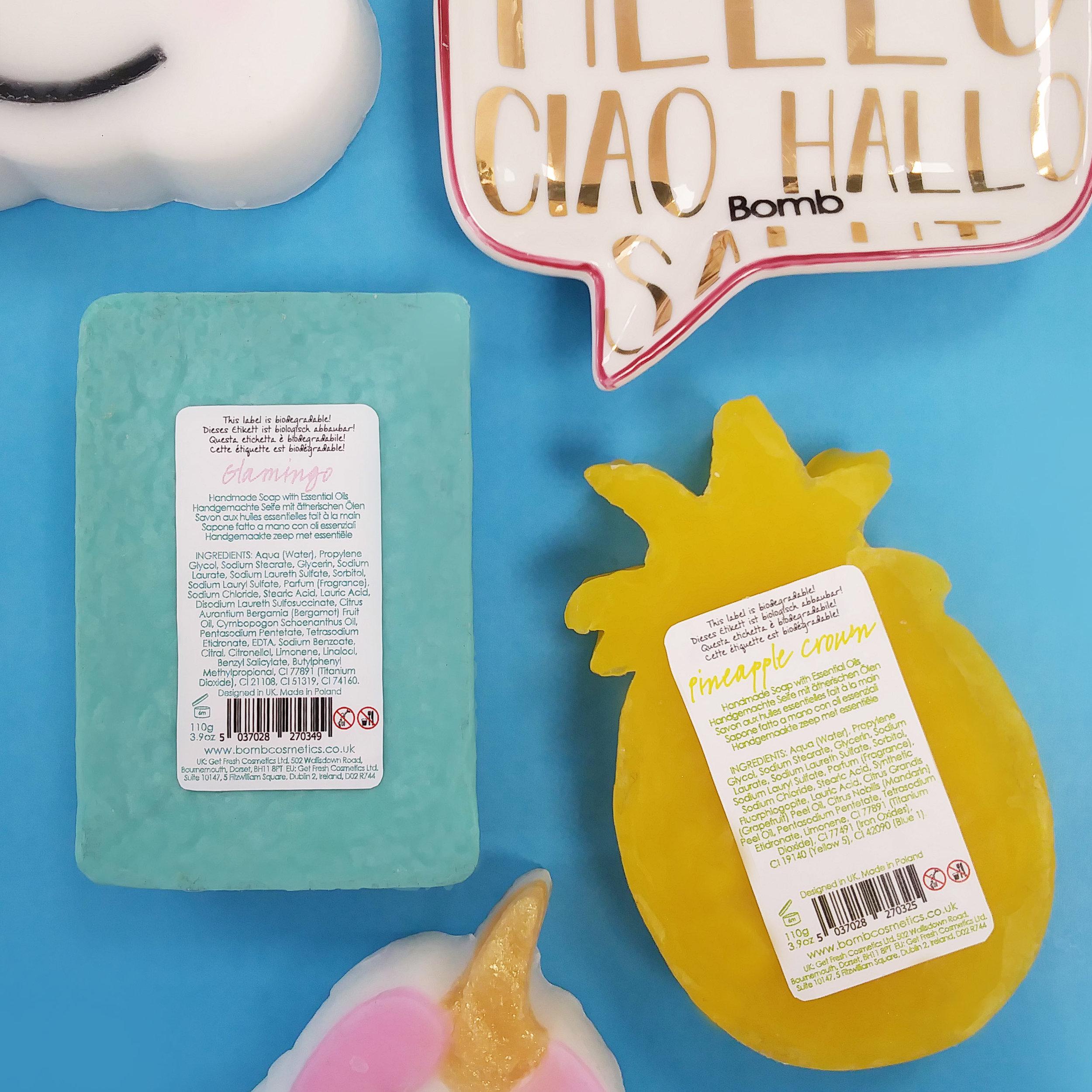 Compostable Soap Labels