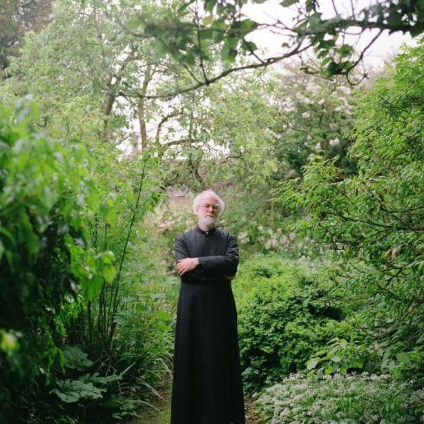 Rowan Williams 'Host Organism' portrait 1