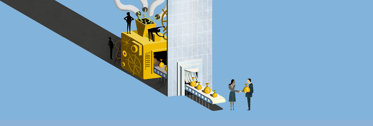Illustration by Adam Simpson for the FT
