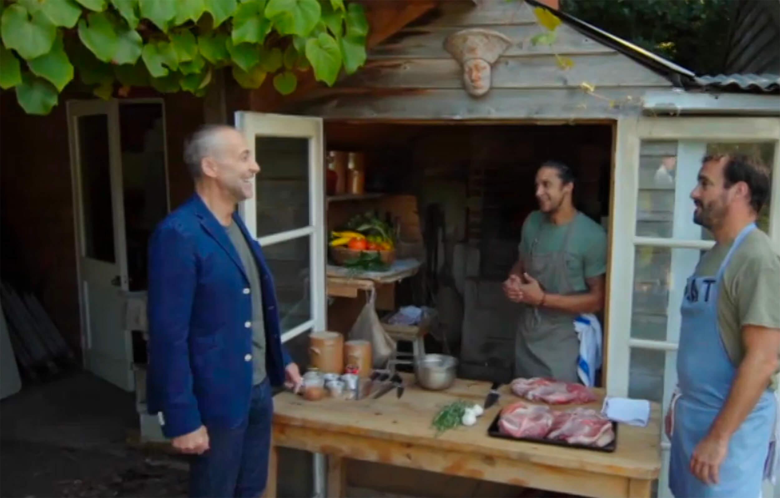 Bakery scene from Hidden Restaurants TV Show