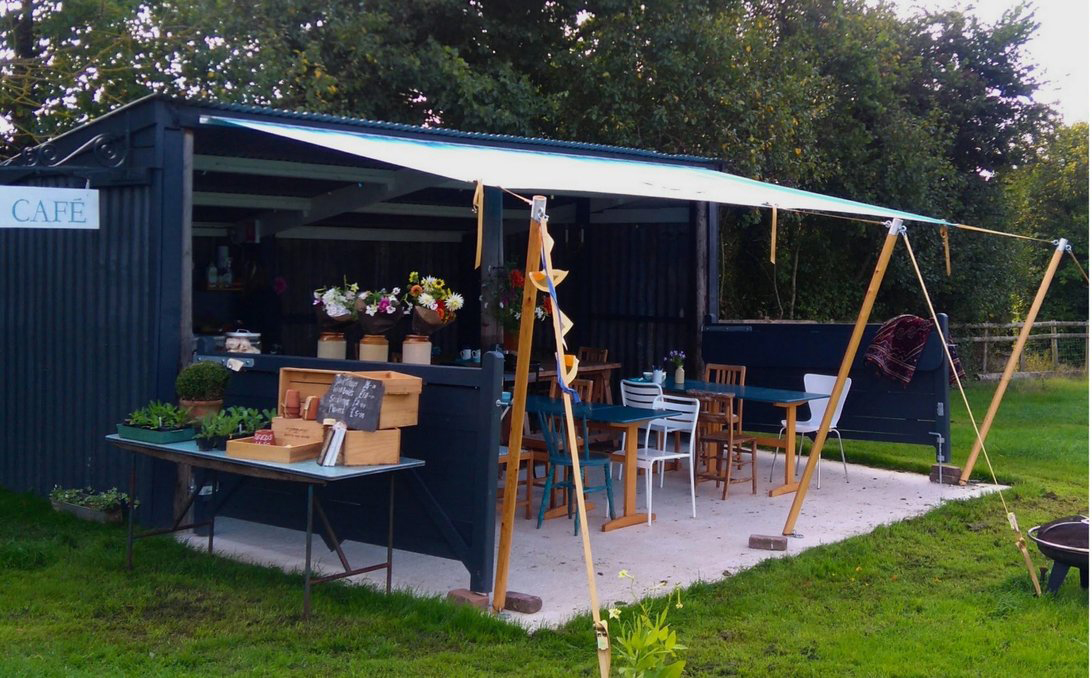 Cafe at JW Blooms