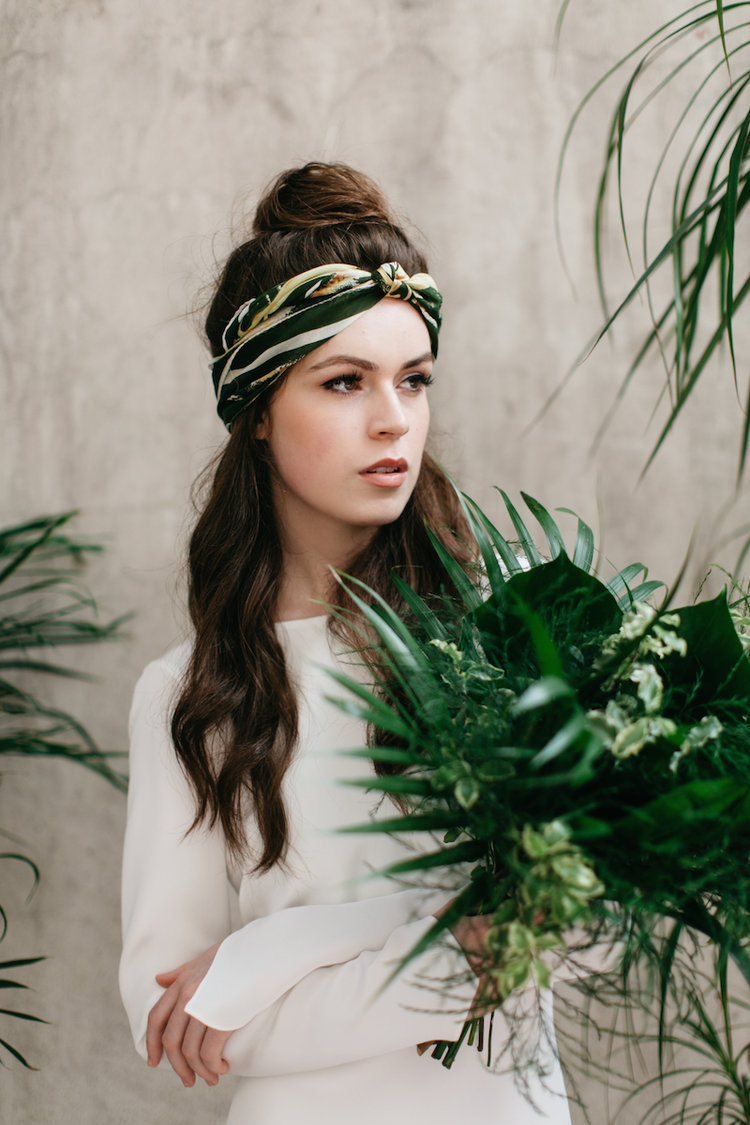Beautiful Bridal Inspiration For A Botanical Wedding