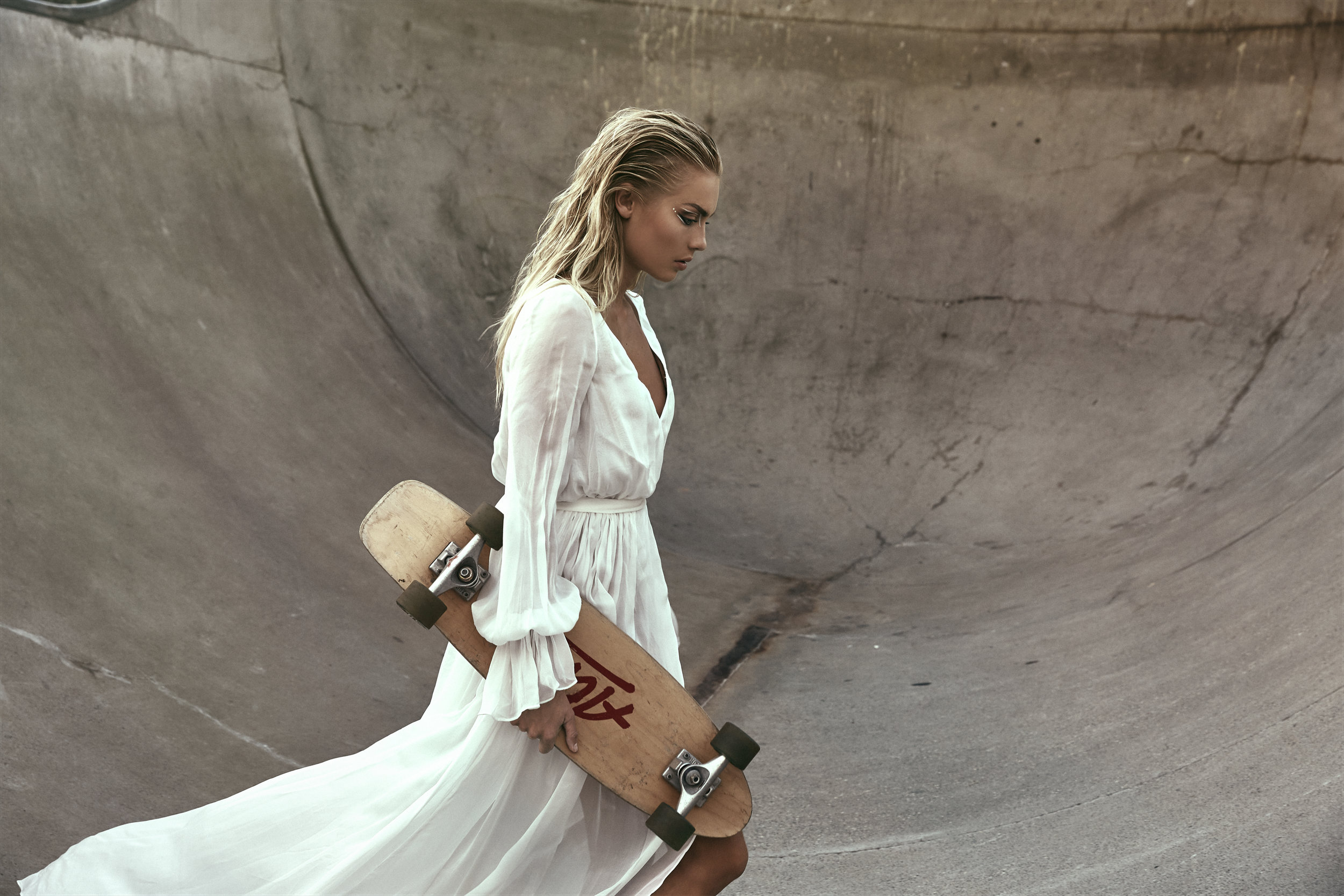An Editorial For The Bride Who Rides