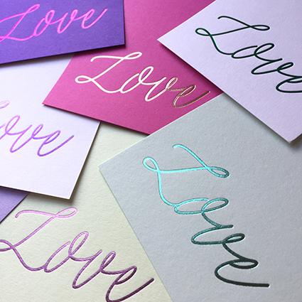 LUCKY INK - - stationery -
