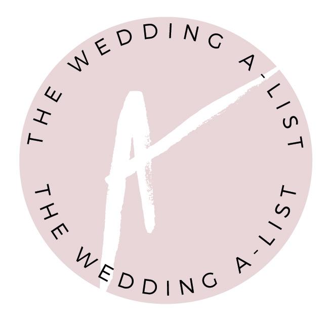 The Wedding A-List
