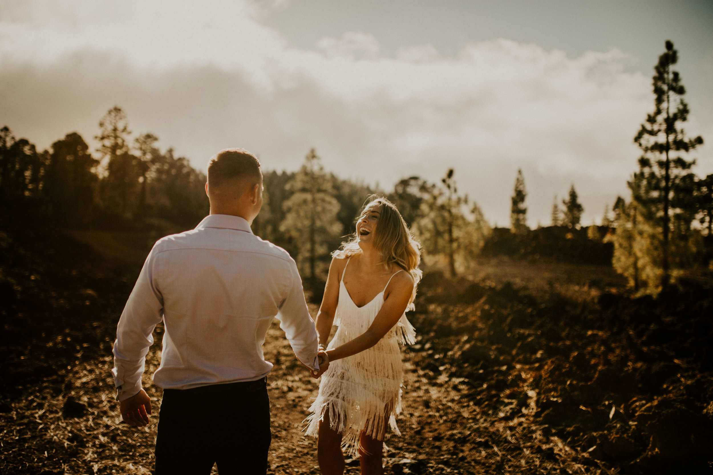 Breathtaking elopement photography in Tenerife