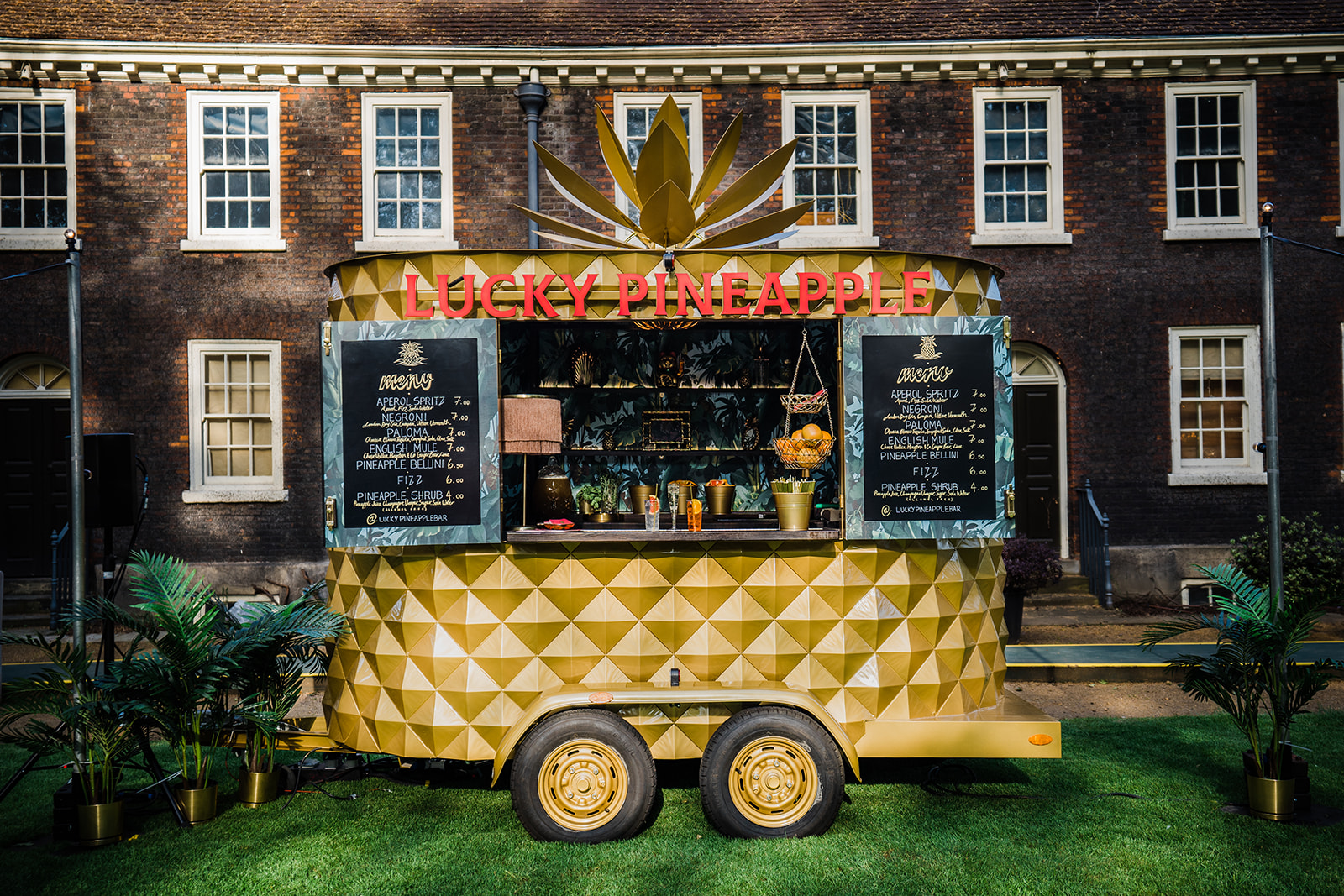 The Lucky Pineapple Bar Tropical Maximalism Launch Party