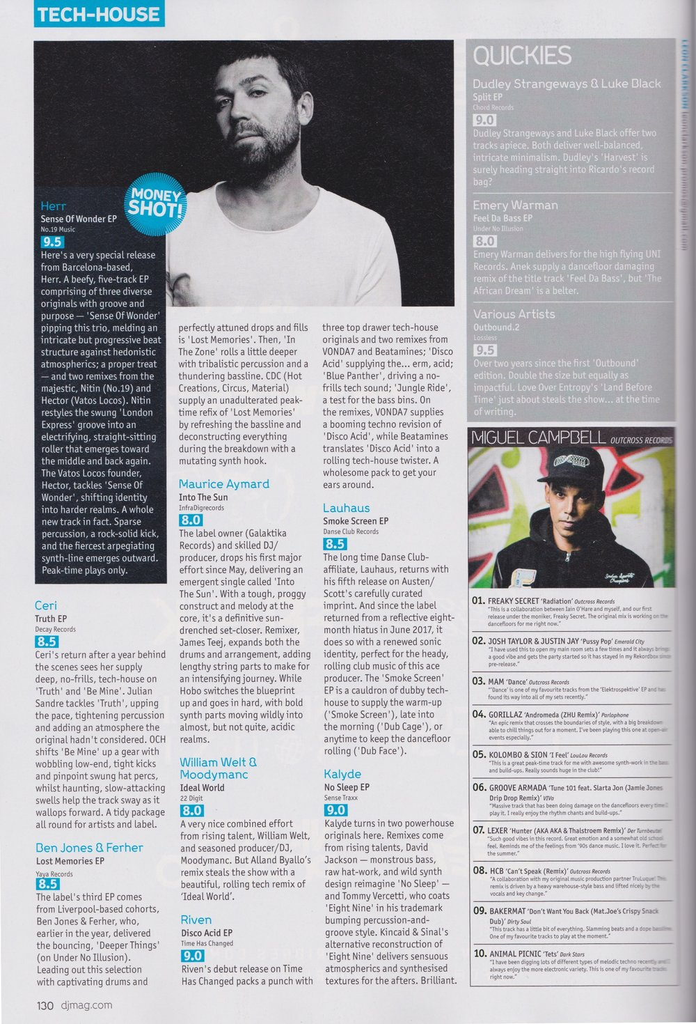 Dj Mag Review Ben Jones Ferher Lost Memories Ep Yaya Records Lollop