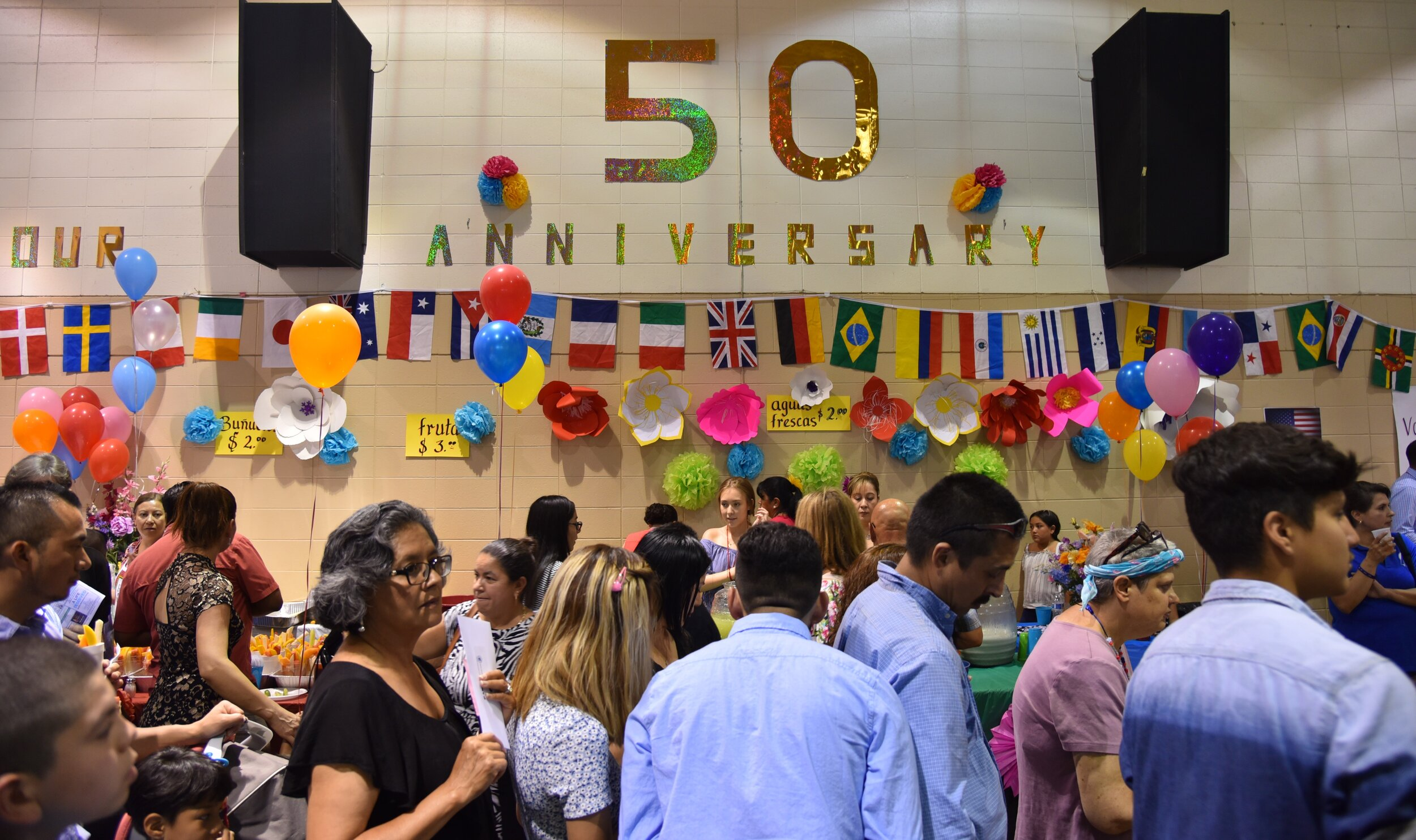 PARISH LIFE - With parishioners representing over 60 nations, the diversity of our parish community is a constant manifestation to the world of the universality of God's love in the Catholic Church, which is the Body of Christ.