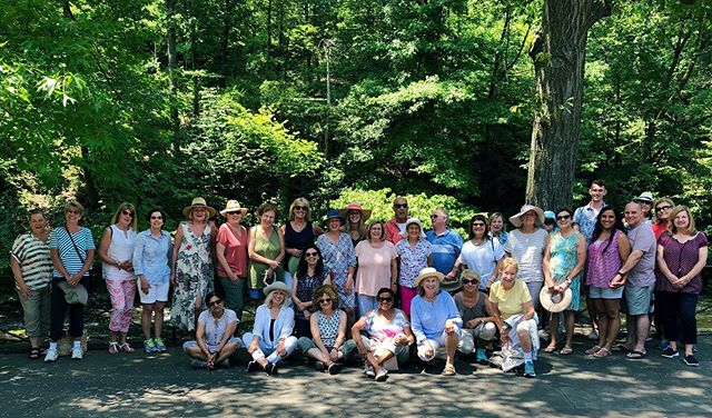 Thank you to all these lovely people who joined me at the New York Botanical Garden on Tuesday!! We had a fantastic day together seeing the Roberto Burle Marx exhibit. My last day tour in the US and I was very spoilt by all of you! Thank you all for the beautiful card, your kindness and the fun champagne and sweet treats on the bus! Love you all 💕💕 Good news is while I'm back to Australia on August 3, these local day tours will continue under the guidance of my wonderful friend & travel agent Paige @wandering_gosling who'll be assisted by our local garden guru Sean @mypottedpals !! Keep posted for new day tour updates! . @nybg #robertoburlemarx #gardentourism #beautifuldestinations #botanicalgardens #gardentour #nyc #bronx #shade #trees #group #lovelypeople #noblegardentours #daytrip #funday #summer #gardensofinstagram #visitnyc #aussieabroad #tourguide #wanderlust #travel #travelguide