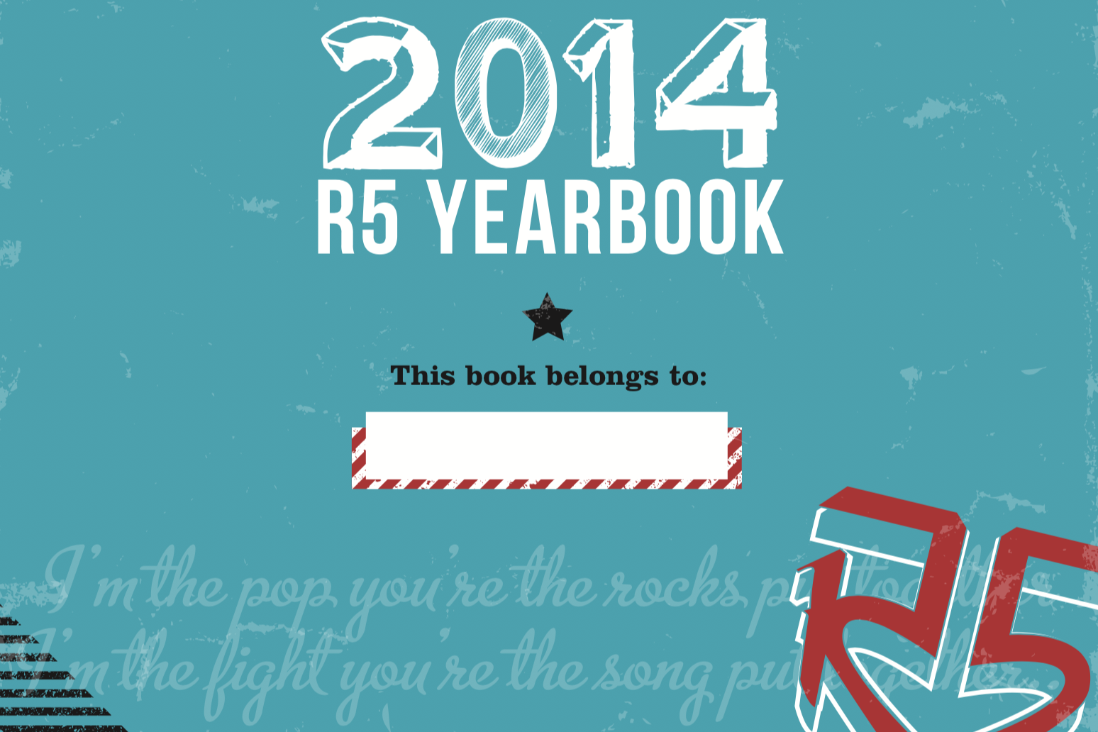 R5 Yearbook