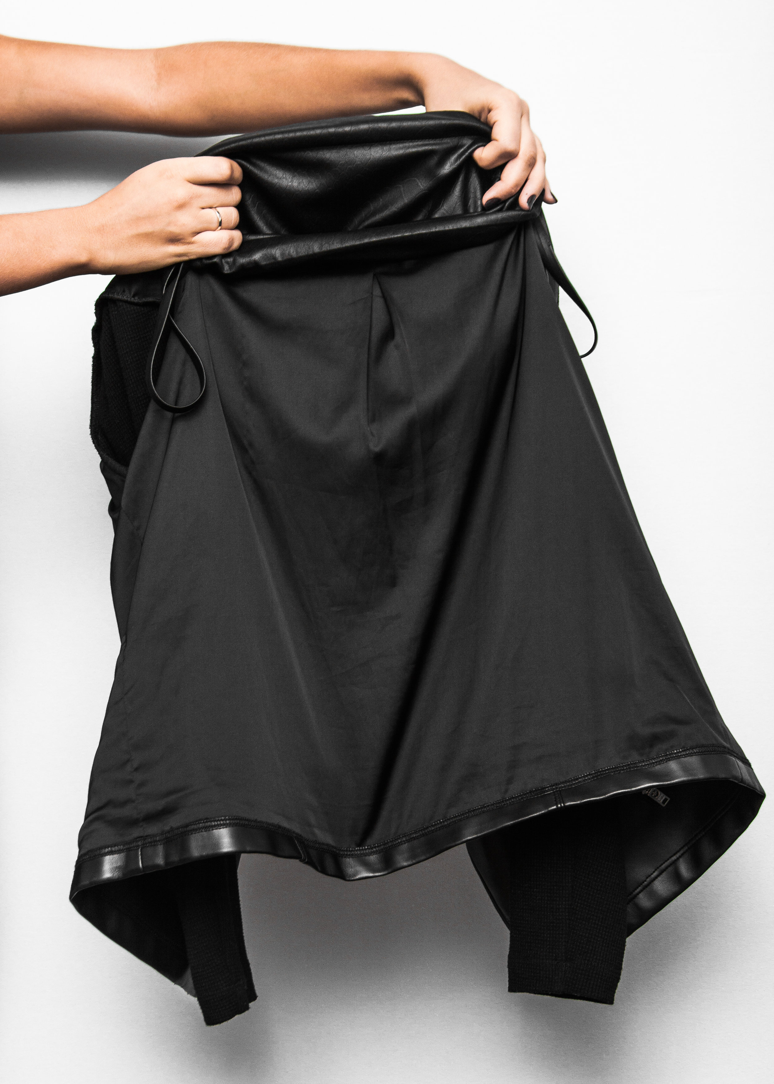 3. Reverse jacket from liner