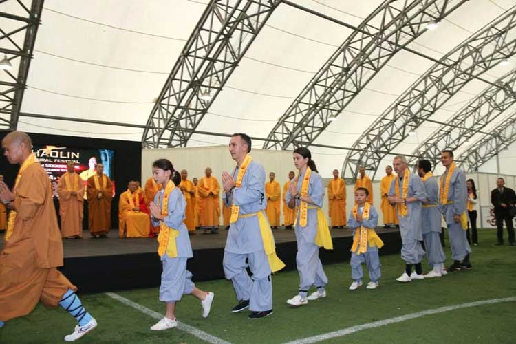 Shaolin Cultural Festival Competition UK