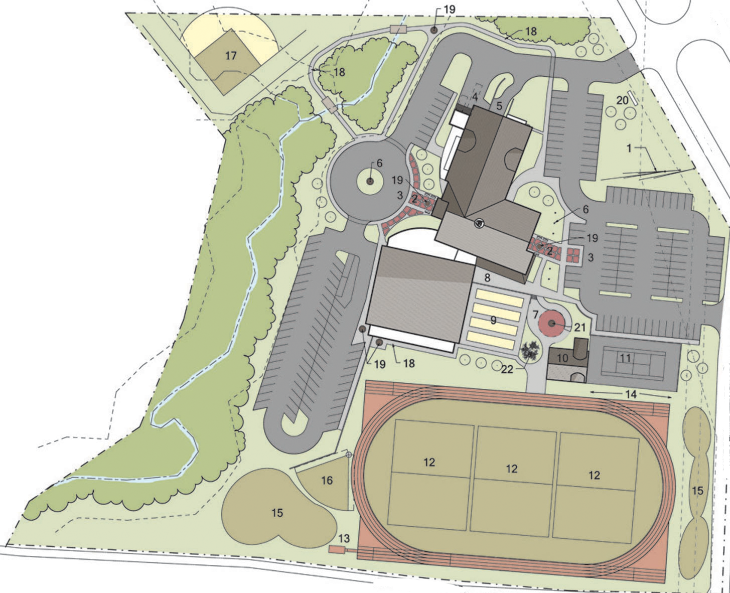 The planned SOMO Training for Life Campus (shown in an early-stage rendering above) will offer athletic fields and facilities for year-round training opportunities; education for athletes, coaches and volunteers; and enriched programming for SOMO's Healthy Athletes screenings and Young Athletes programs.