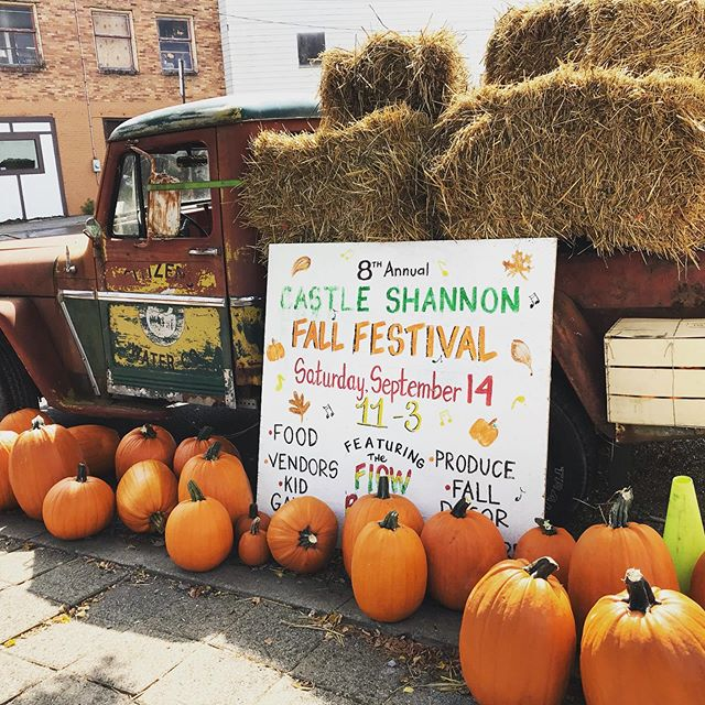 See you tomorrow at 11am for Castle Shannon's annual Fall Festival! 🍁