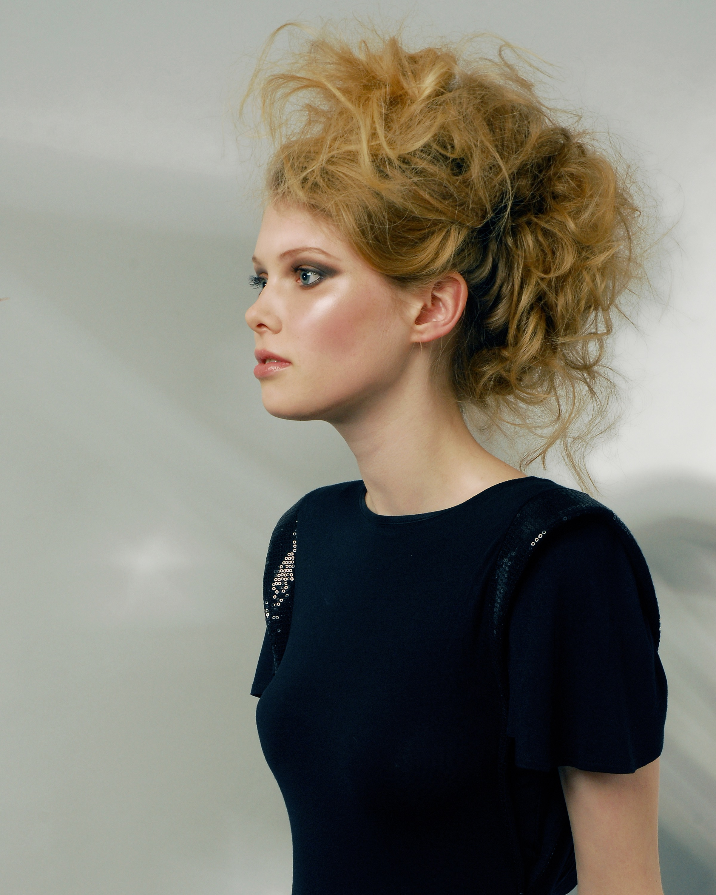 Eva Bogdalska make-up hair