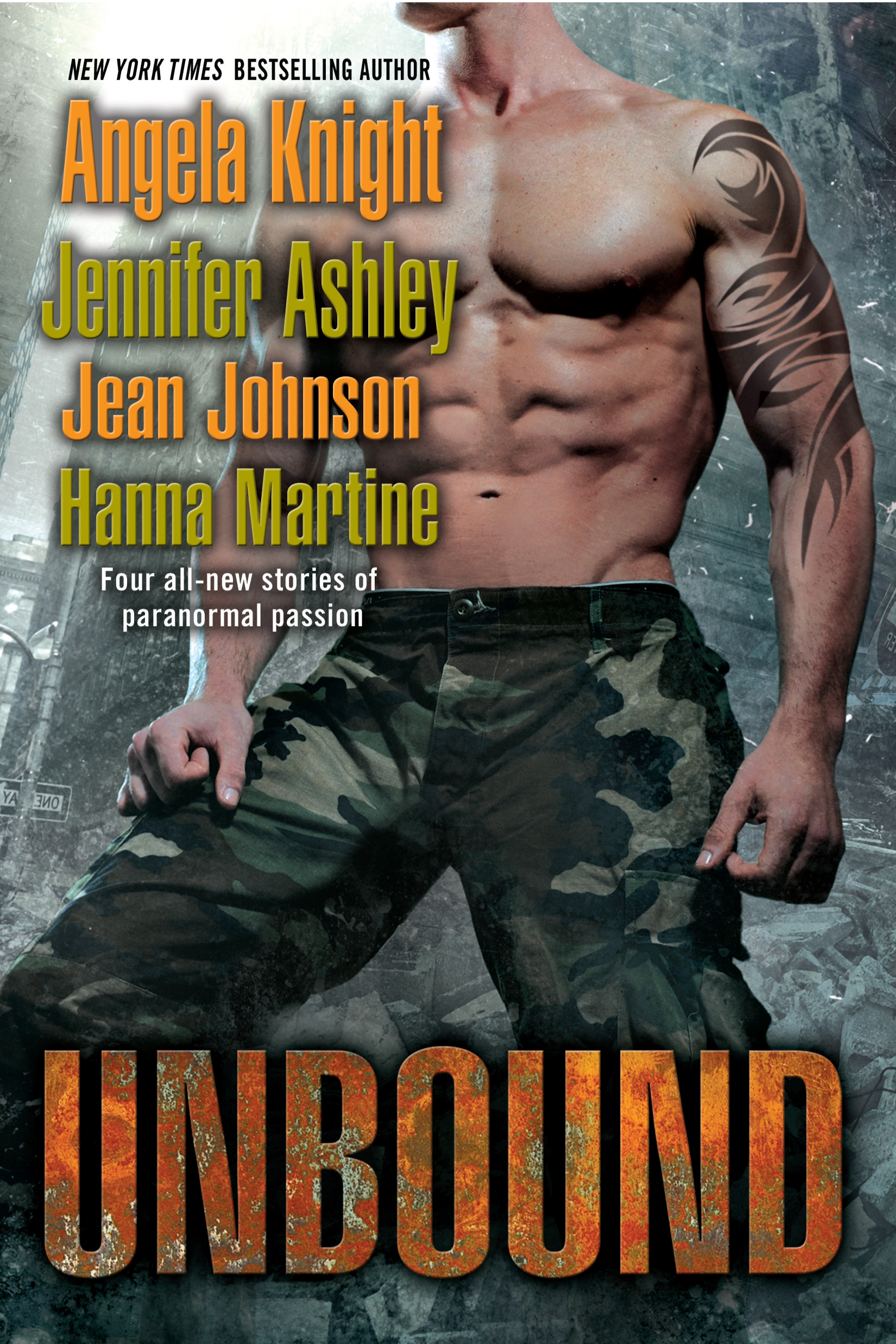 "Unbound (includes the Hanna Martine novella ""No Surprise More Magical"")"