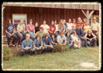 WPR staff mid (to early) 1970's!