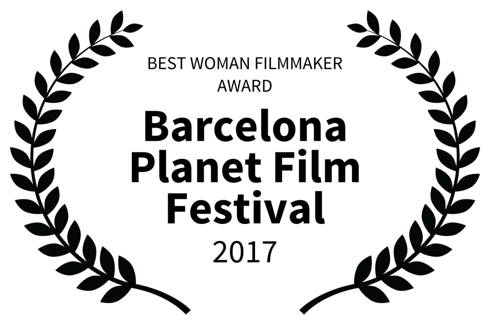 A-BEST WOMAN FILMMAKER AWARD - Barcelona Planet Film Festival - 2017.png