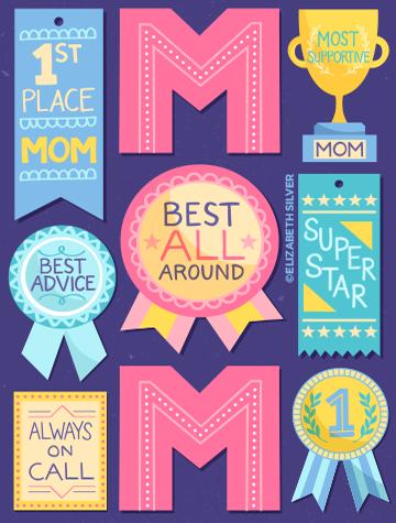 Mom's Award ©Elizabeth Silver
