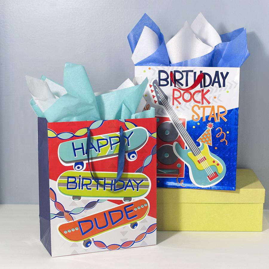 Birthday Bags ©Elizabeth Silver