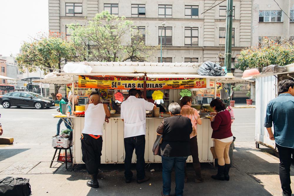 """Ricos Tacos Guisados """"Las Aguilas"""", CDMX, México"""