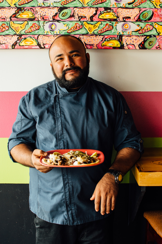 Chef and Taquero Luis Villalva