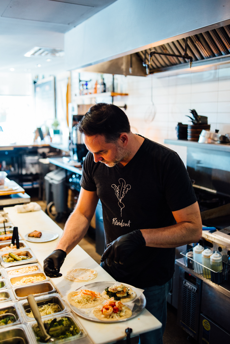 Andrew Savoie, Chef and Owner Resident Taqueria