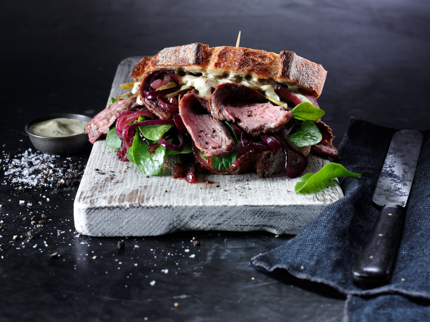 Food and Drink Photography Sandwich - Lux Studio