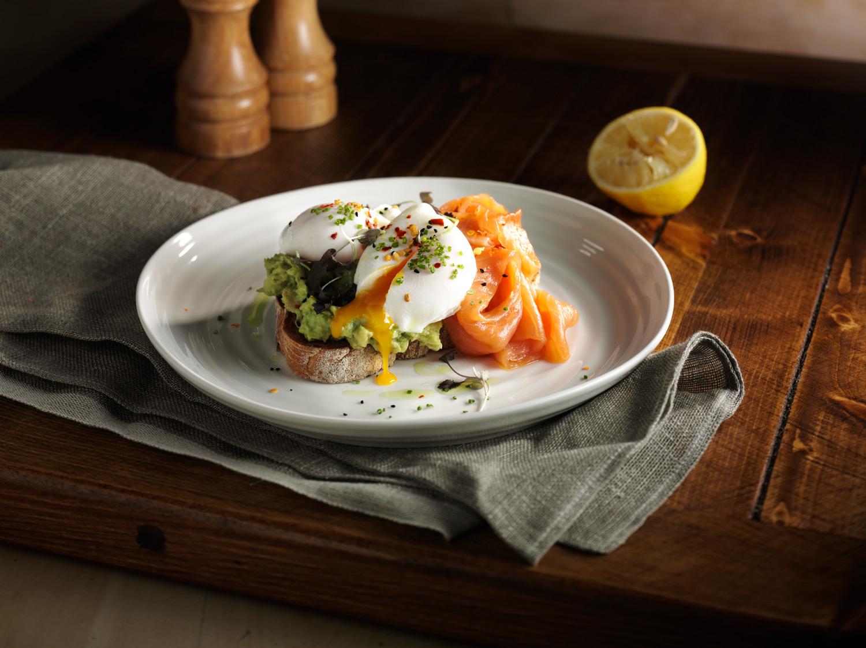 Flourish Bakery Avocado Eggs Food and Drink Photography - Lux Studio
