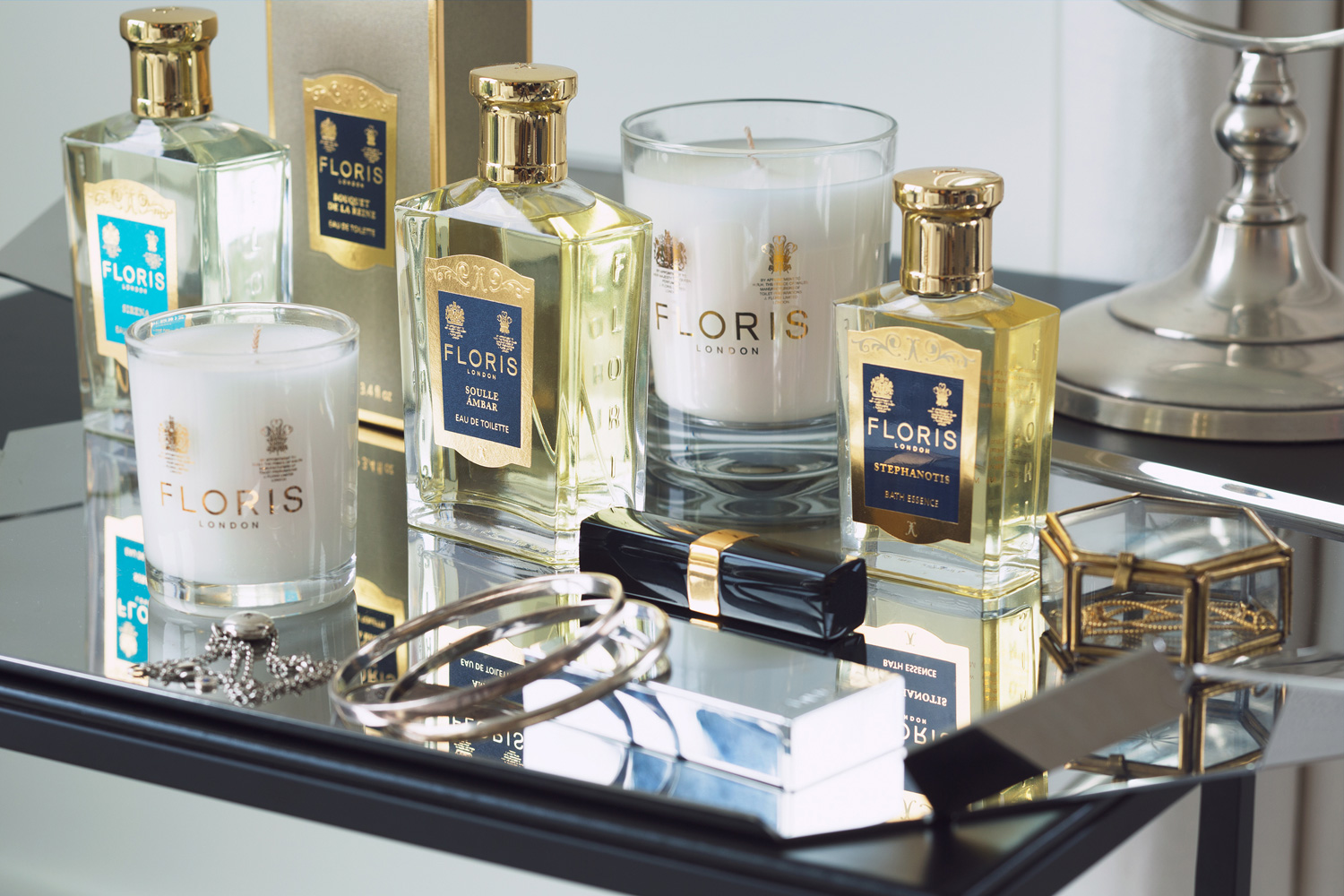Still Life Photography Floris London Fragrances and Candles - Lux Studio