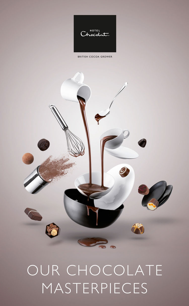 Hotel Chocolat Create A Choc Advertising Photography