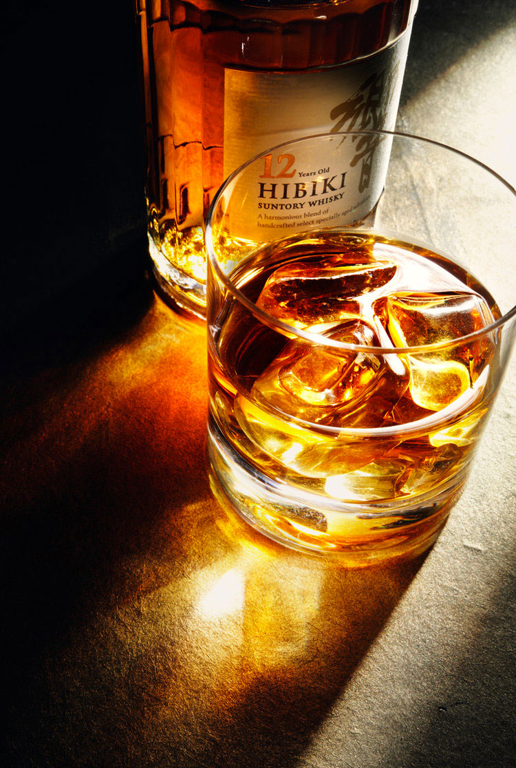 Hibiki Whisky Decanted Food and Drink Photography - Lux Studio