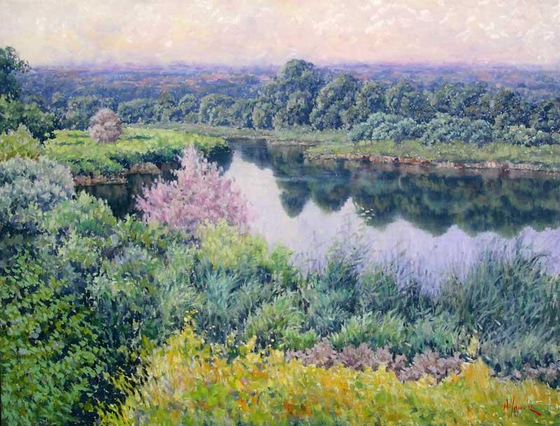 Antonio Sannino - Pastel Landscape.jpg