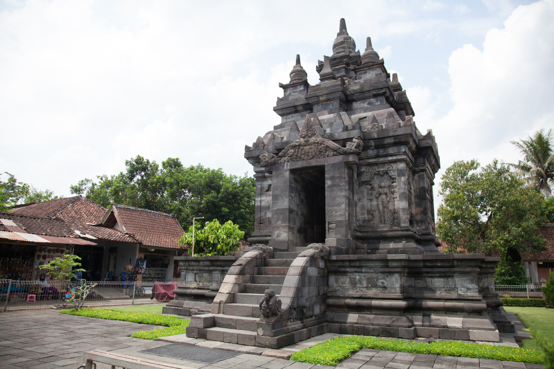 Small Temple near Borobadur