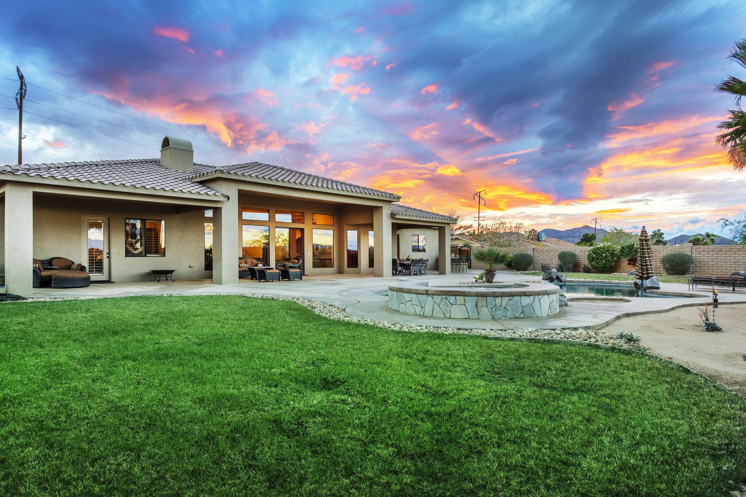 High desert property by Desert Real Estate Photography