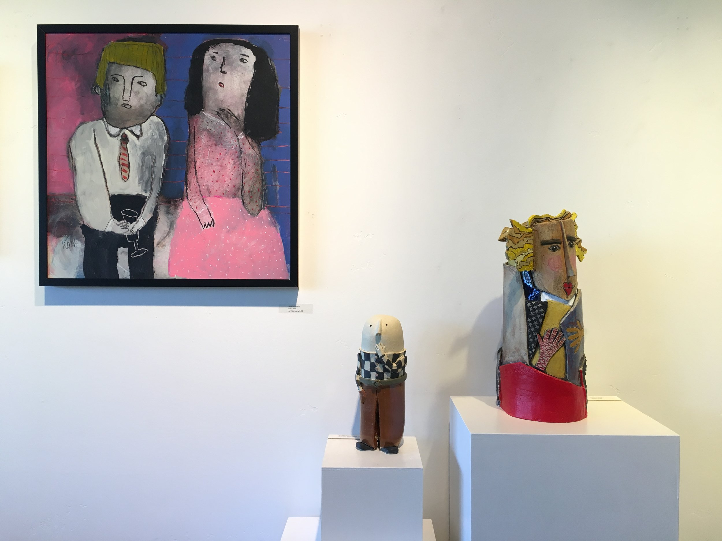 May - SUE SPRINGER & ROBERT KOCHNew WorkMay 3rd - June 4th, 2019
